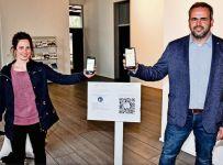 Gäste können die Luca-App ab sofort im Rathaus, Bürgerhaus und der Bücherei zur Corona-Kontaktpersonennachverfolgung nutzen.