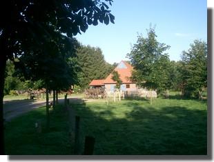 Dorfmittelpunkt in Kuhstedtermoor.